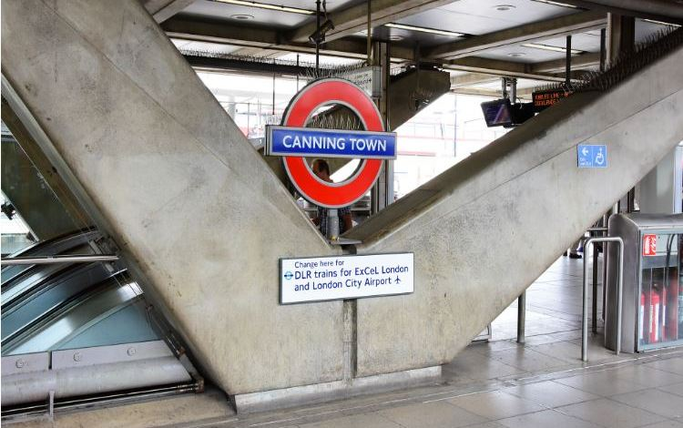Canning Town Station (Jubilee Line & DLR)